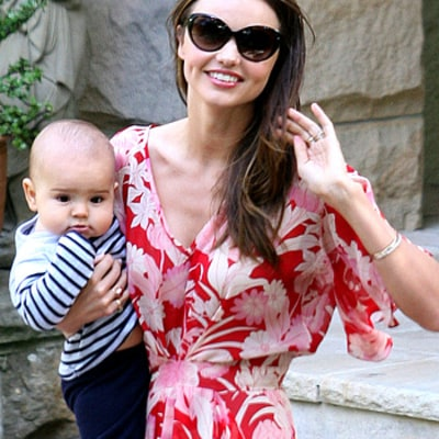 How Miranda Kerr's Son Flynn Celebrated His 1st Birthday