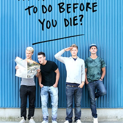 Cast of MTV's The Buried Life Reveal Book Cover, Inside Artwork!