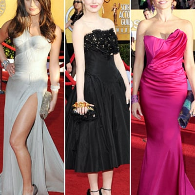 2012 SAG Awards: What All the Stars Wore