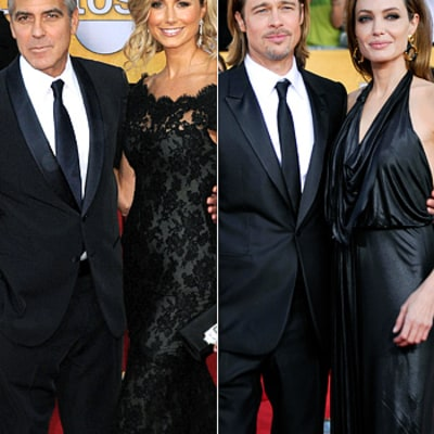 Who Was the Hottest SAG Awards Couple?