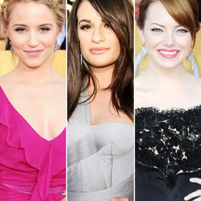 SAG Awards 2012: Best Hair and Makeup Looks