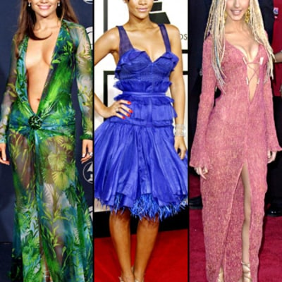 Grammy Awards: Best and Worst Dresses Of All Time