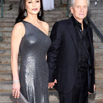 Catherine Zeta-Jones, 42, Stuns in Super Sexy Dress