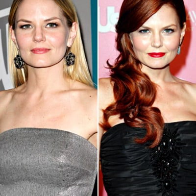 Jennifer Morrison Dyes Her Hair Red!