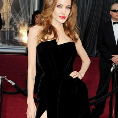 Will Angelina Jolie Wear a Red Wedding Dress?