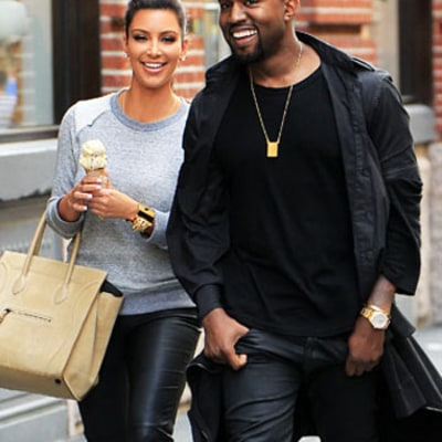 PIC: Kim Kardashian, Kanye West Reunite in NYC!