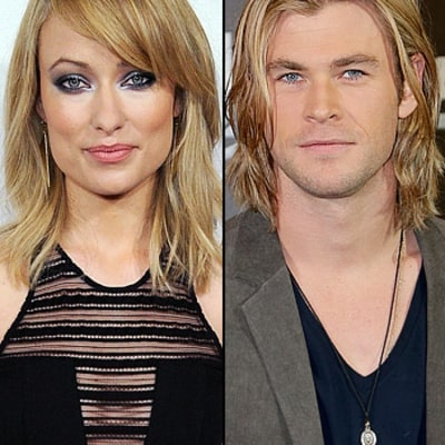 Olivia Wilde: Chris Hemsworth and I Competed Over Our Hair!