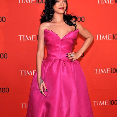 Rihanna Channels Madonna With Cone Bra Look at Time 100 Gala