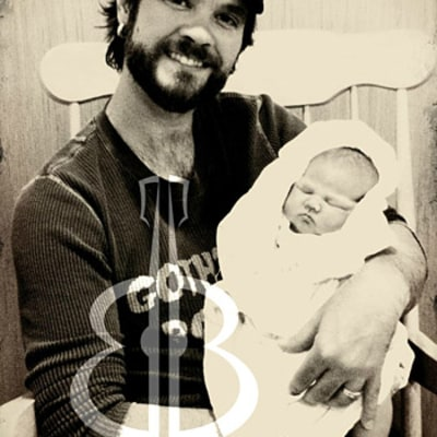 PIC: American Idol's Bo Bice Welcomes Adorable Daughter Merrin