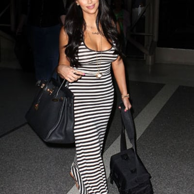 Copy Kim Kardashian's Chic, Easy Vacation Style