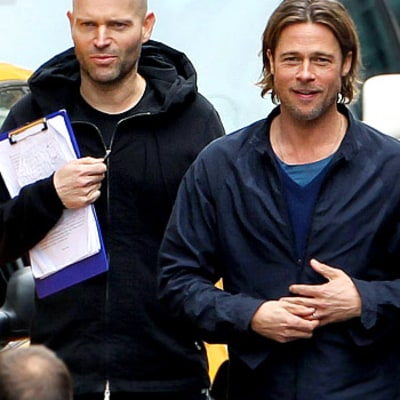 Brad Pitt Refuses to Speak to World War Z Director: Report