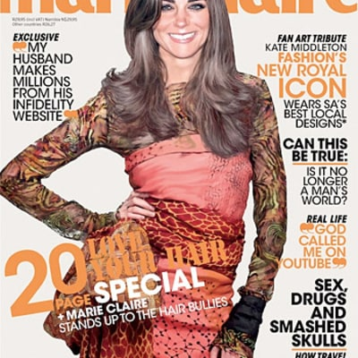Whoa! See Kate Middleton's Photoshopped Marie Claire South Africa Cover
