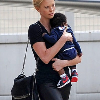 Charlize Theron's Life as a Mom