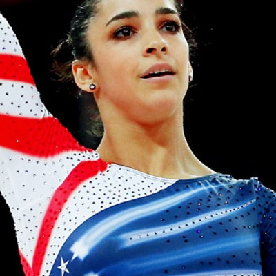 Aly Raisman Wins Gold in Floor Exercise
