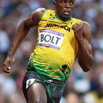 Usain Bolt Wins Gold in 200-Meter Race