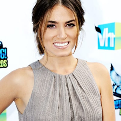 Get Nikki Reed's Do Something! Awards Undone Bun