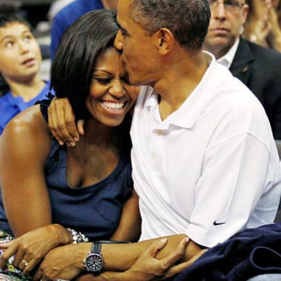 Celebrity Kisses 2012: Barack and Michelle Obama Make Top 12 List