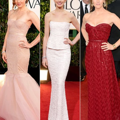 Golden Globes 2013: Best-Dressed Stars