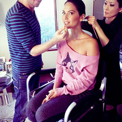 Olivia Munn's Golden Globes Adventure