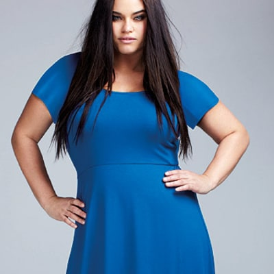 Kris Humphries' Sister Kaela Humphries Models for Plus-Size Brand Evans: Pictures