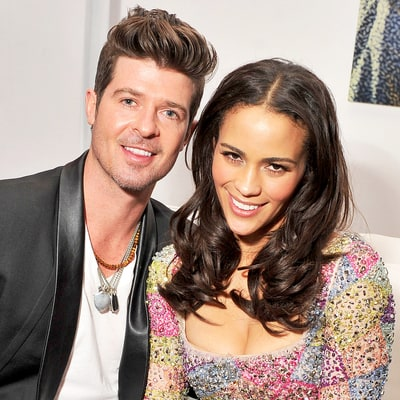 Robin Thicke Brothers And Sisters Robin Thicke, Paula Pa...
