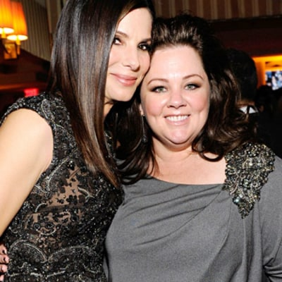 Melissa McCarthy on Costar Sandra Bullock: Our Kids