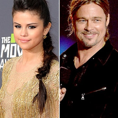 Selena Gomez Gets Nervous Meeting Brad Pitt: