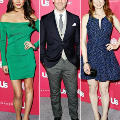 Chrissy Teigen, James Van Der Beek and Ellie Kemper Party at Us Weekly's Hot Hollywood Bash