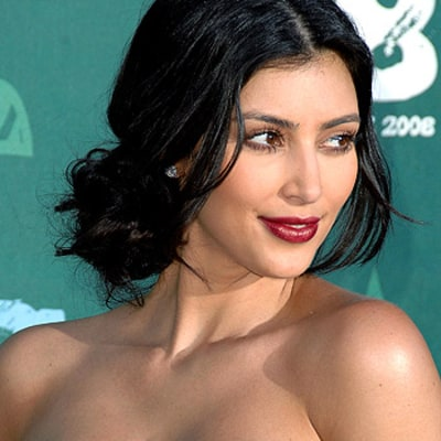 Kim Kardashian: My Lips Looked Bigger in High School Than They Do Now