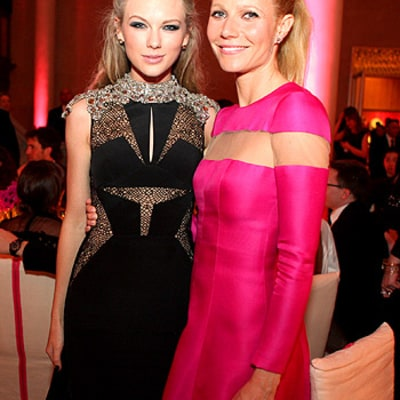 Taylor Swift and Gwyneth Paltrow Bond Inside Met Gala Dinner