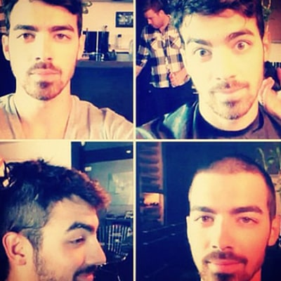 Joe Jonas Shaves Head: Says