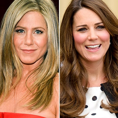 Jennifer Aniston Is Jealous of Kate Middleton's Hair