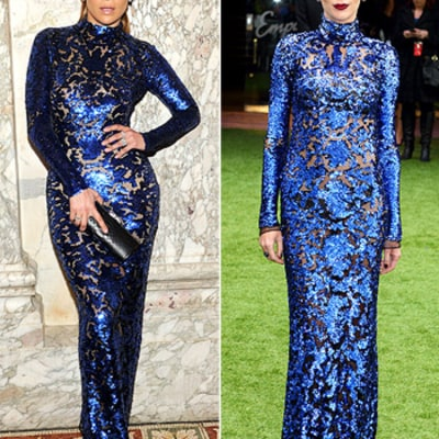 Who Wore It Best: Jennifer Lopez vs. Liberty Ross?