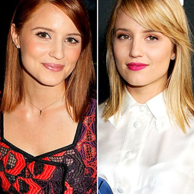 Dianna Agron Blonde Again After Becoming a Redhead