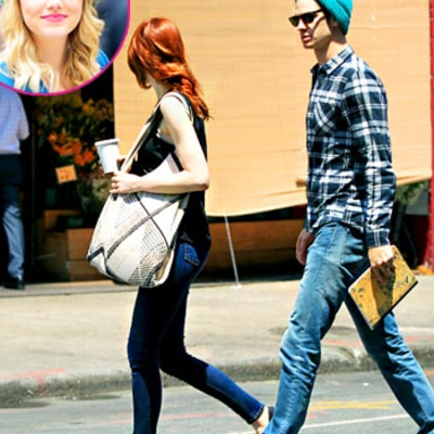 Emma Stone Goes Back to Red Hair After The Amazing Spider-Man 2 Shoot