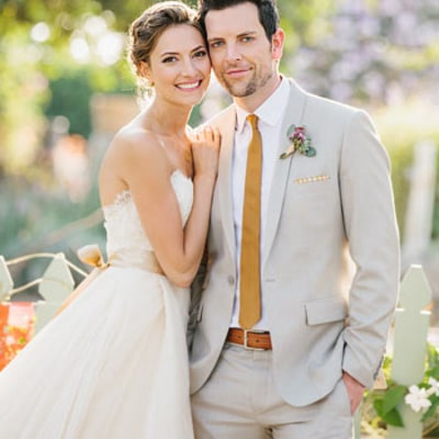 Chris Mann of The Voice Ties the Knot to Laura Perloe: See Her Dress!