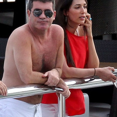 Simon Cowell Gets Lauren Silverman Pregnant: See Them Yachting in 2012
