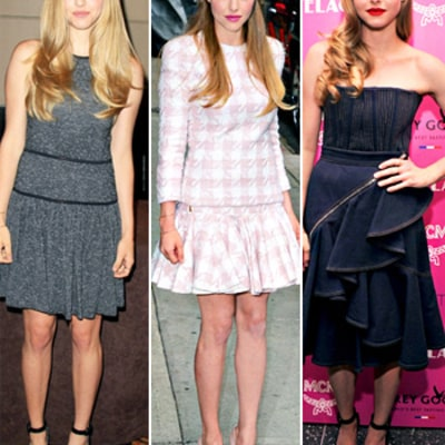 Amanda Seyfried Wears Three Outfits in One Day: Which Look Is Best?