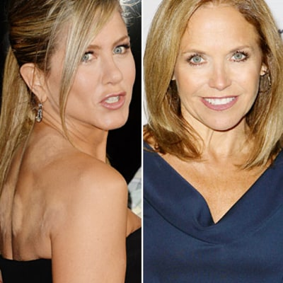 Jennifer Aniston Disses Katie Couric: