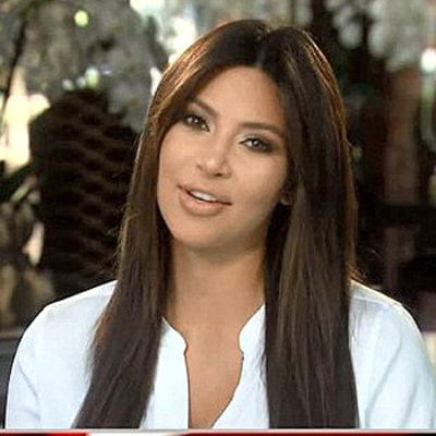 Kim Kardashian Resurfaces After Baby on Kris Jenner's Show: Pictures