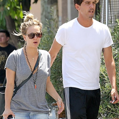 Kaley Cuoco Steps Out With Tennis Player Ryan Sweeting: Picture