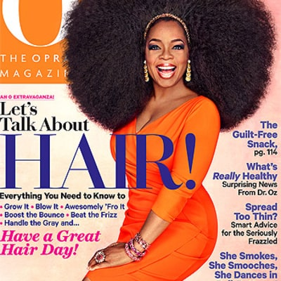 Oprah Winfrey Wears 3.5-Pound Wig on September Cover of O, The Oprah Magazine