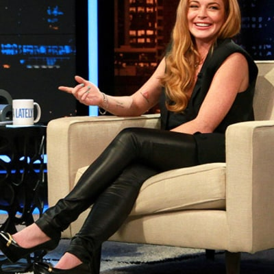 Lindsay Lohan Mocks Herself, Justin Bieber, Kanye West and Chelsea Handler