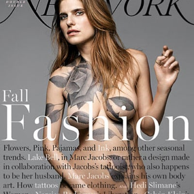 Lake Bell Goes Naked On New York Magazine's Cover: Picture