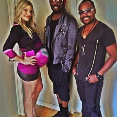 Fergie Shows Off Growing Baby Bump at Second Baby Shower: Picture