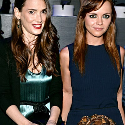 Winona Ryder, Christina Ricci Reunite 23 Years After Mermaids at Marc Jacobs Fashion Show