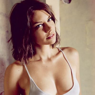 Lauren Cohan, Walking Dead Actress, Strips Down for Maxim