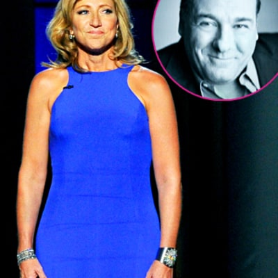 James Gandolfini Remembered by Edie Falco During Tearful Emmys Tribute