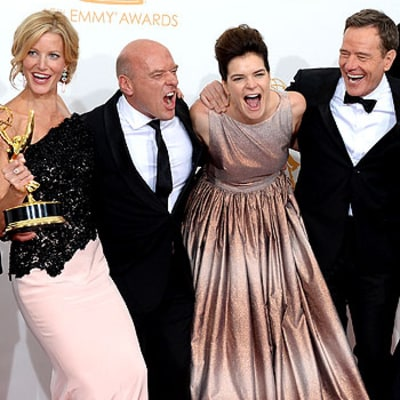 Breaking Bad Emmys Breakdancing Routine: Watch the Meth Makers Let Loose!