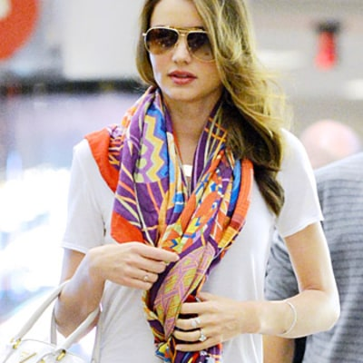 Miranda Kerr's Stylist: How to Wear This Season's Chic Scarves